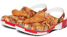 Crocs launches a KFC version that look and smell like fried chicken