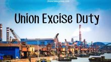What is Union Excise Duty?
