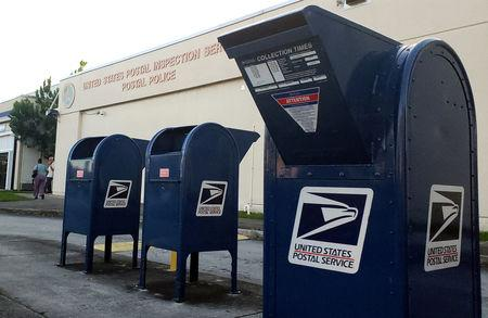 FILE PHOTO: A U.S. Postal Inspection Service facility is pictured near Miami International Airport in Miami
