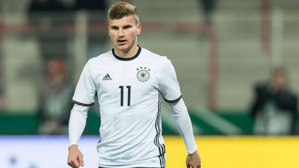 Werner gibt Debüt in der Nationalmannschaft