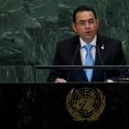 Guatemala president rejects 'conditions' after Trump aid threats