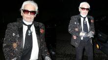 Karl Lagerfeld: Die besten Bilder der Dinnerparty in New York