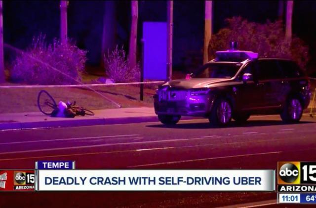 Uber shuts down self-driving operations in Arizona