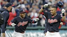 Michael Brantley's back and that's a great spark for the Indians