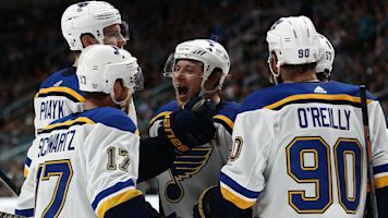 Blues' top line fuels WCF win over Sharks