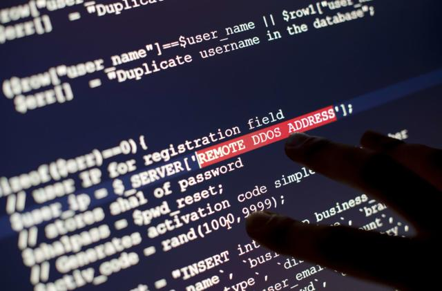 Hackers target firm protecting against denial of service attacks