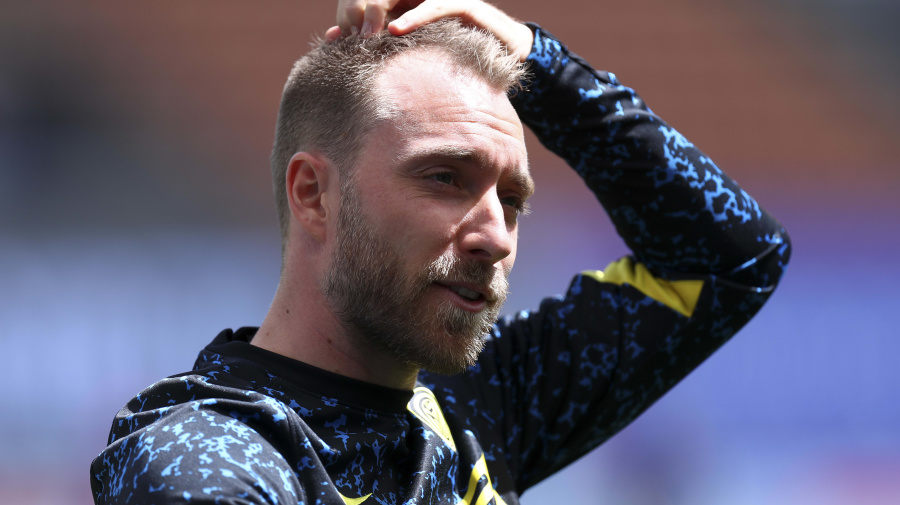 Eriksen visits Inter Milan for 1st time since collapse