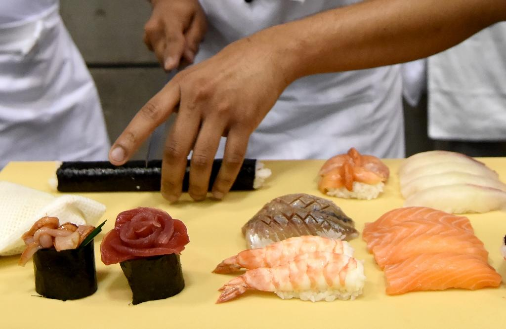 Demand for sushi is soaring at Wimbledon