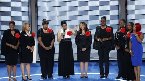 'Mothers of the Movement' at DNC say Hillary Clinton knows black lives matter