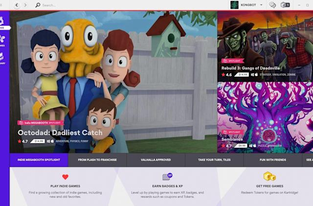 Kartridge is a curated game store, now with more Indie Megabooth