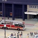 Panicked shoppers flee after SUV drives through middle of mall