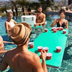 This Pool Float Doubles As A Beer Pong Table And We Officially Can't Wait For Summer