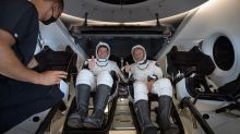 SpaceX: Nasa crew describe rumbles and jolts of return to Earth