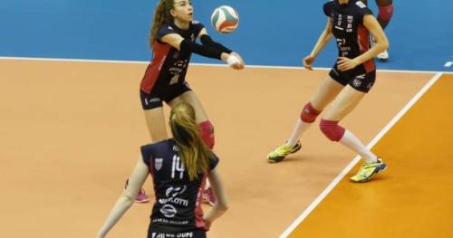 Volley - Ligue A (F) - Ligue A : Béziers domine Paris et se hisse à la deuxième place