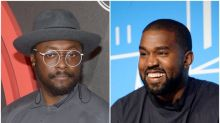 Will.i.am slams Kanye West's presidential bid as 'a dangerous thing'