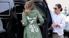 'It's endless with these morons': Julia Louis-Dreyfus, Kathy Griffin, othersreact to Melania Trump's 'I really don't care' message