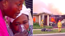 Girl, 12, saves five siblings from massive house fire
