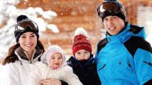 See Adorable New Pictures of Prince George and Princess Charlotte on Skiing Break