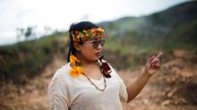 In Brazil, an indigenous woman joins Bolsonaro in fight for mining