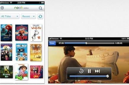 Barnes & Noble releases Nook Video app for iOS
