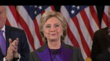 Hillary Clinton confirms she coped after her election loss with yoga, hiking, and wine