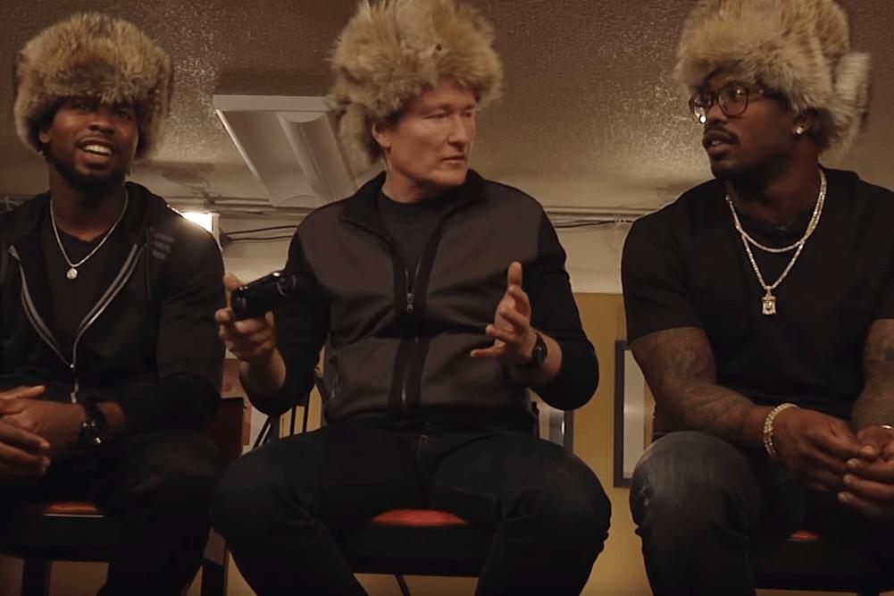 Watch Conan O'Brien, Josh Norman and Von Miller Play Doom on