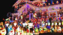 13 familias que se pasaron con la decoración navideña de su casa