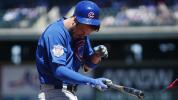 Cubs' Bryant appears OK after being hit in head