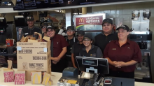 McDonald's employees help woman feed the homeless: 'The whole crew came together'