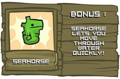 Castle Crashers bronze and a seahorse too