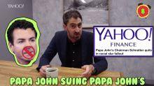 Business + Coffee: Trump Org CFO subpoenaed, RadioShack Express, Papa John suing Papa John's