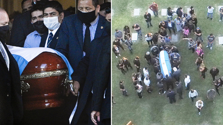 Funeral worker's 'disgusting' act with Diego Maradona's body
