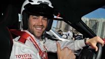 Hot Stars in Fast Cars at Toyota Grand Prix