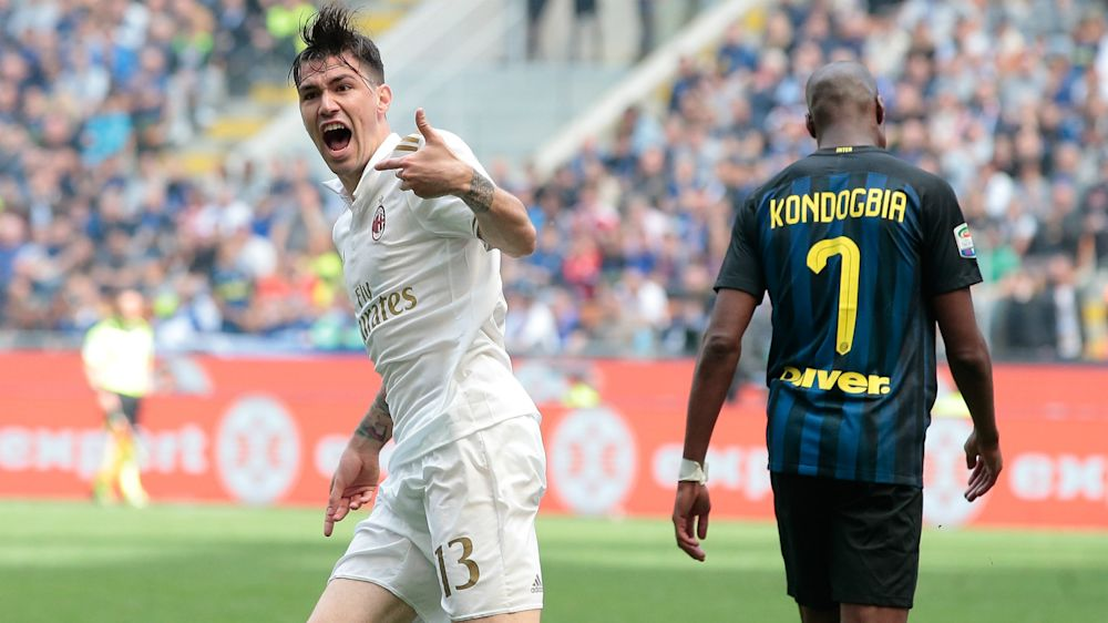 Inter 2 AC Milan 2: Romagnoli and Zapata snatch stunning derby draw