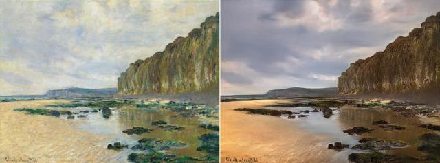'Reverse Prisma' AI turns Monet paintings into photos