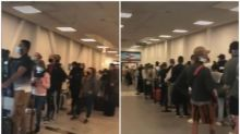 Huge queues at UK airport as travellers returning from Spain complain holiday plans were ruined by 'knee-jerk' quarantine rules