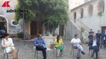 Muccino dallo Jonio al Tirreno con Raul Bova e Rucio Munos Morales