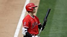 Trout drives in 3 runs, makes diving catch as Angels top A's