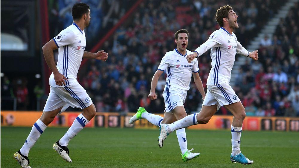 Bournemouth-Chelsea 1-3: Risposta Blues, +7 sul Tottenham