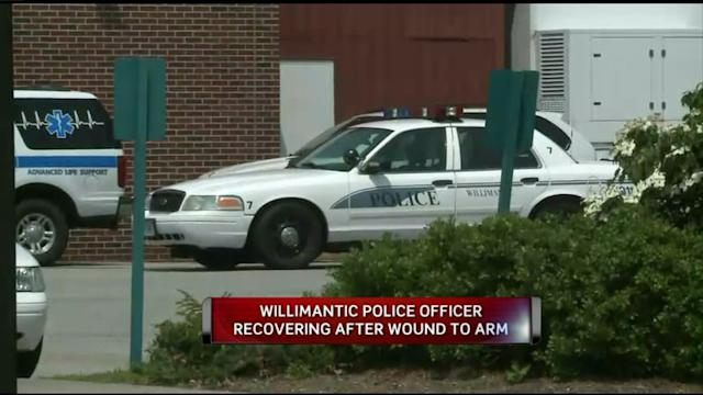 Officer Shot In Willimantic Recovering In Hospital