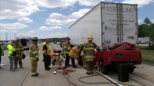 1 dead in I-495 crash in Claymont, Delaware