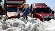 'Freakish' Summer Hailstorm Buries Streets of Guadalajara in Up to 6 Feet of Ice
