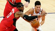 Devin Booker's clutch free throws edge Portland Trail Blazers, keep Phoenix Suns in hunt for No.1 seed
