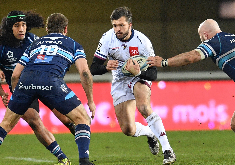 Rugby Union - Australia's Ashley-Cooper leaving Bordeaux