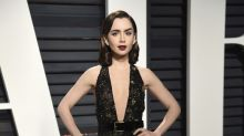 Lily Collins Parties All Night After Oscars — and Wears Last Night's Makeup to Work on Monday