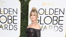 A los 71 años, Goldie Hawn está en su mejor momento