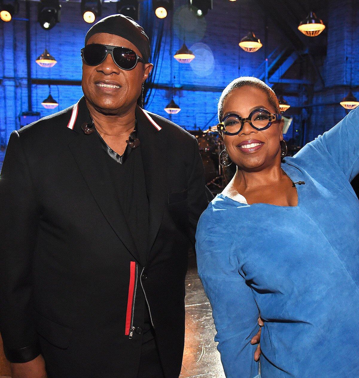 Stevie Wonder Tells Oprah He Is Permanently Moving to Ghana to Protect Grandchildren from Injustice - Yahoo! Voices