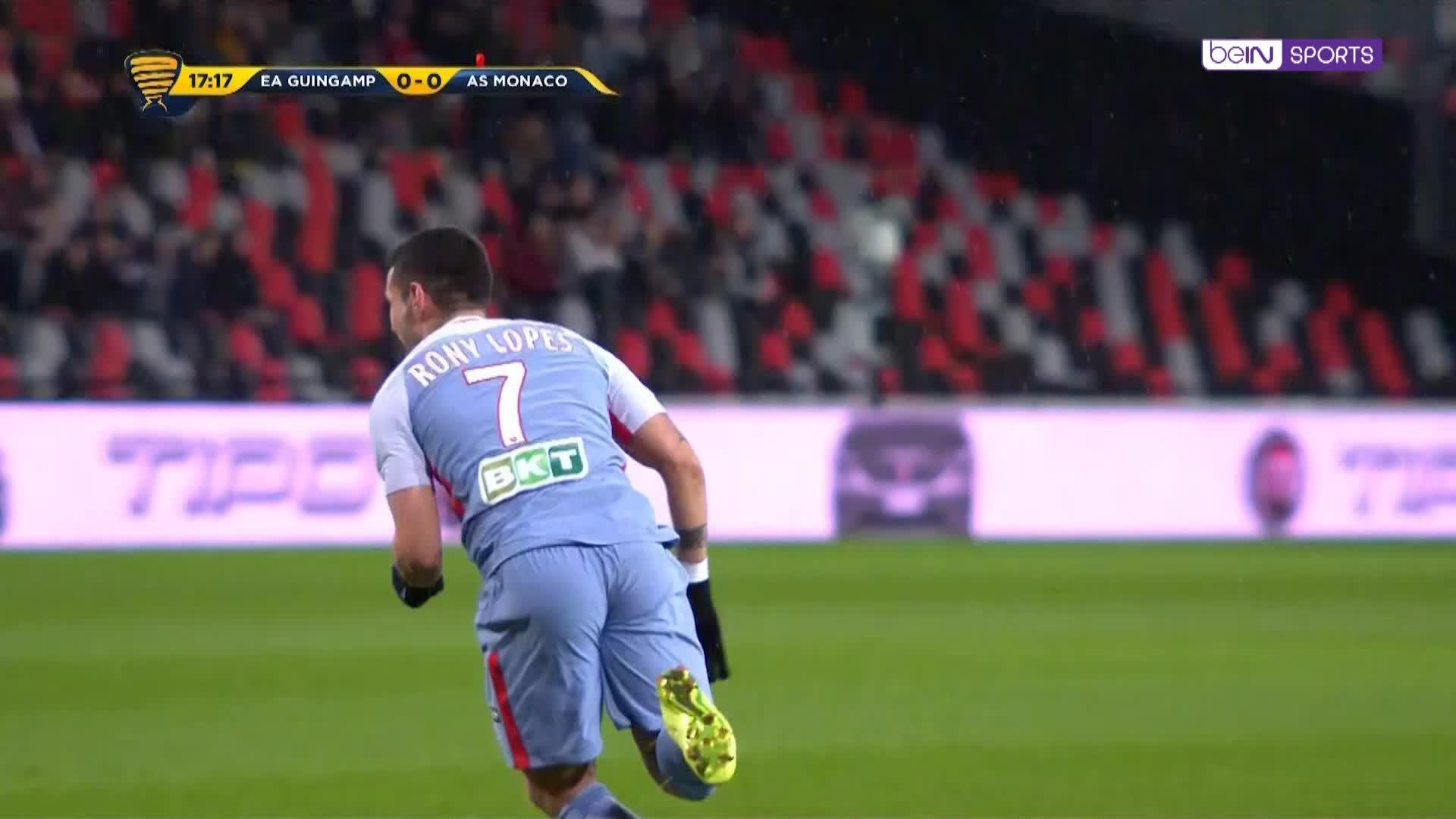 Lopes' bicycle kick gives Monaco the lead - 24 Live Sport News