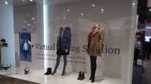 Toshiba's Virtual Fitting room doesn't have men's wear