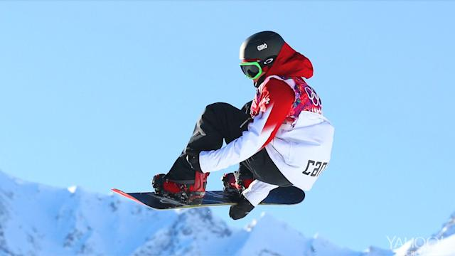 A bronze for Canadians in men's slopestyle snowboarding